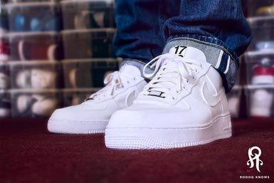White Air Force Ones